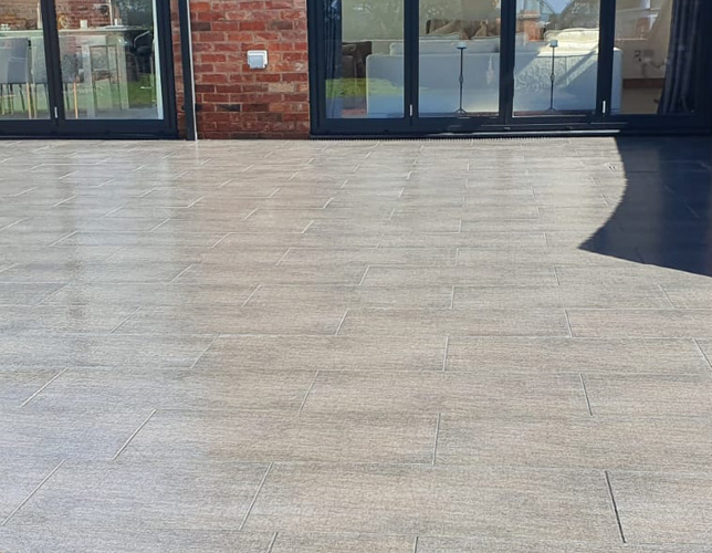 Bespoke Paving Solution provided by Outback Landscapes