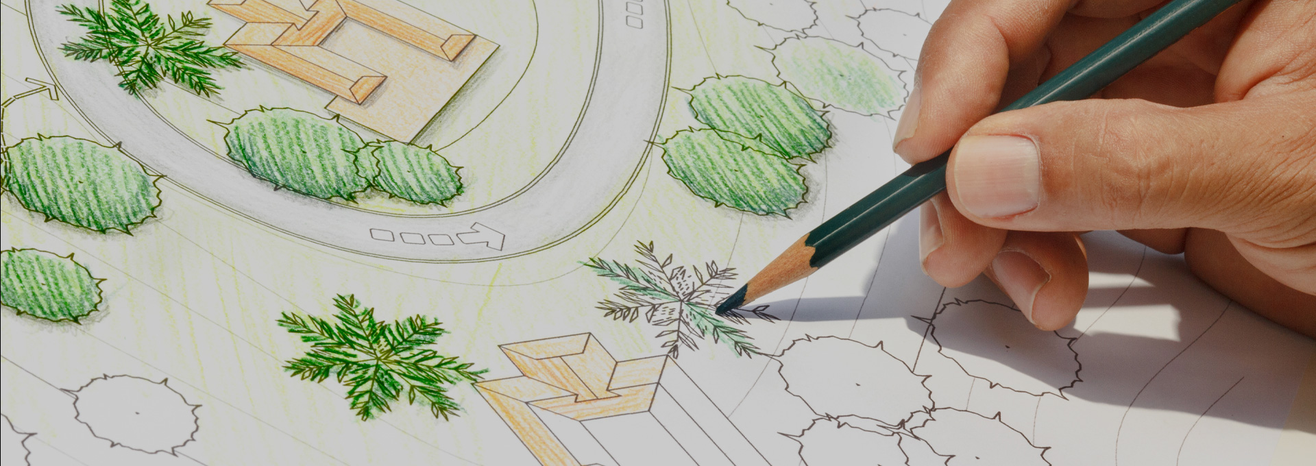 Landscaping plans & technical drawing created by Outback Landscapes specialist.