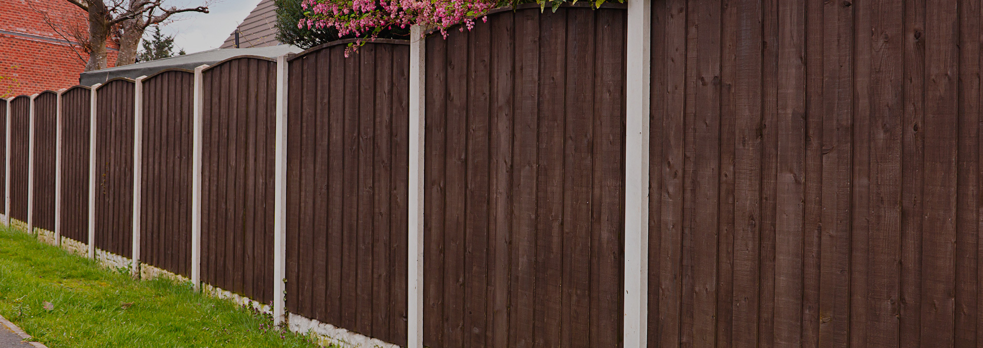 Simple domestic fencing project finished by Outback Landscapes specialists.