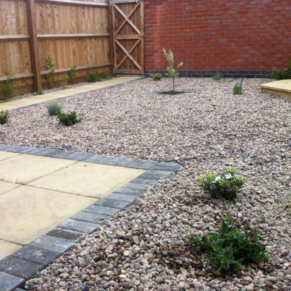 Landscaping project which included garden maintenance and crops planting.